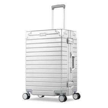 AMERICAN TOURISTER 美旅 TI1 密码锁旅行箱 哑光银色 28英寸