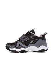 Skechers斯凯奇D'lites休闲鞋情侣鞋 熊猫鞋 66666079/BKCC