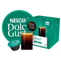 英国进口 美式醇香 雀巢多趣酷思( Dolce Gusto) 胶囊咖啡 巡礼墨西哥 研磨咖啡 12粒装108g