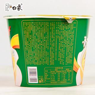 WHITE ELEPHANT 白象 桶装方便面 香菇炖鸡 102g*12