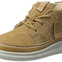 Clarks clouda 女童靴 (棕褐色、31)