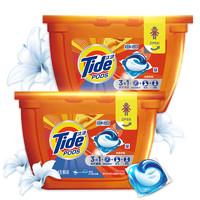 Tide 汰渍 3合1洗衣凝珠 洁雅茉莉 18颗*2盒 *4件