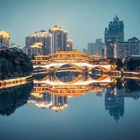 东方航空 上海-成都2-15天往返含税机票  晚去早回