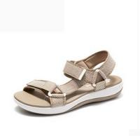 21号:Clarks CloudSteppers Brizo Cady 女士拼色搭扣凉鞋