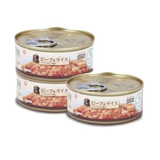 IRIS 爱丽思 牛肉米饭 犬用罐头 100g*3罐 *5件