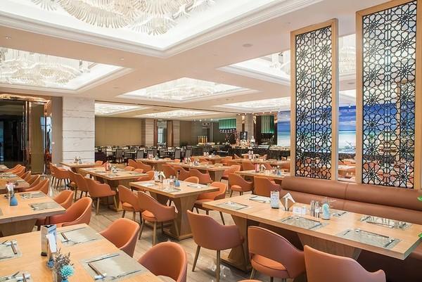 海盐海利开元名都大酒店1晚套餐 周末不涨价,含早餐+晚餐