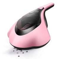 PUPPY 小狗 D-607 家用手持式紫外线螨虫吸尘器 粉红色