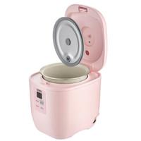 THERMOS 膳魔师 EHA-4101E-Z 迷你电饭煲 (粉色、0.8L、210W、220V~50Hz、三维立体加热)