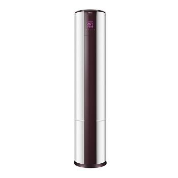 Haier 海尔 KFR-72LW/08 3匹 冷暖圆立柜式家用客厅节能空调 (3匹、定频)