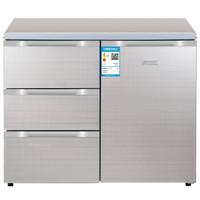 HTminsheng 航天民生 BCD-210CV 橱柜嵌入式矮冰箱 210L 酷金色