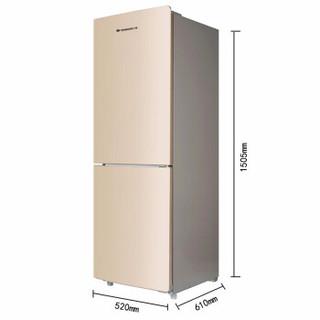 SHANGLING 上菱 BCD-185WKY   185升 双门冰箱金色