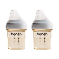 HEGEN PPSU婴儿多功能 宽口径PPSU奶瓶 150ml 2个装 *3件