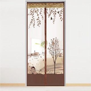 夏季防蚊门帘自吸磁性魔术贴隔断沙帘高档防蝇防蚊虫通风纱窗家用
