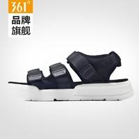 361度男鞋凉鞋男夏季运动男士露趾休闲凉拖鞋沙滩鞋学生韩版潮流