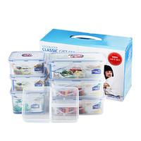LOCK&LOCK 乐扣乐扣 HPL855S002 塑料保鲜盒六件套 *2件