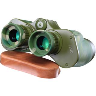MaiFeng 迈峰 望远镜军工高倍高清夜视非红外测距双筒望眼镜成人95式-迷彩 7x40