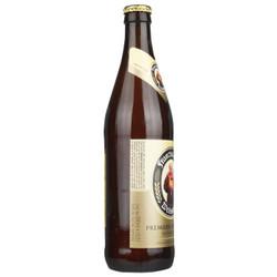 范佳乐(原教士)大棕瓶 德国小麦白啤酒 450ml*12瓶 整箱装 世界啤酒大赛金奖 *3件