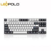 Leopold 利奥博德 FC750R PD版 87键 机械键盘 Cherry红轴 Sky配色