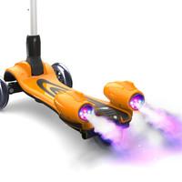 儿童滑板车 三轮闪光溜溜车