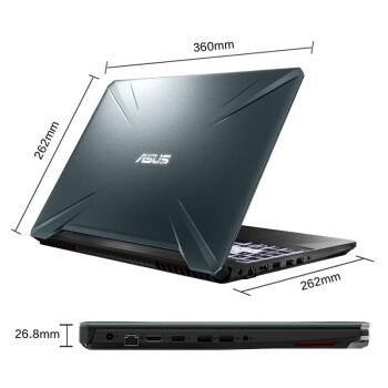 ASUS 华硕 飞行堡垒 15.6英寸游戏笔记本电脑 黑色