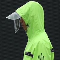 QUANYAN 全燕 yy002 雨衣雨裤套装 黑搭绿 XL
