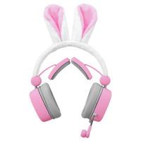 xiberia 西伯利亚 游戏耳机 (粉色、有线)