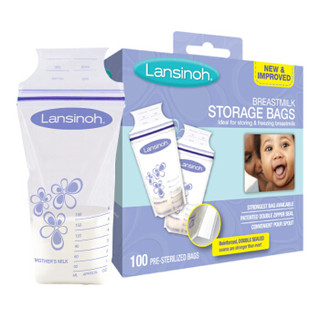 Lansinoh 兰思诺 母乳储存袋 180ml*100片