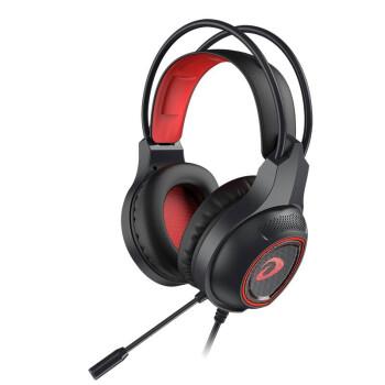 Dareu 达尔优 游戏耳机   虚拟7.1声道 (黑色、有线、USB+3.5毫米音频接口)
