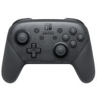 Nintendo 任天堂 Switch NS 掌机 便携式游戏机 Pro 游戏手柄 黑色
