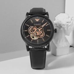 EMPORIO ARMANI 阿玛尼 男士机械镂空手表时尚潮流百搭腕表 AR60008