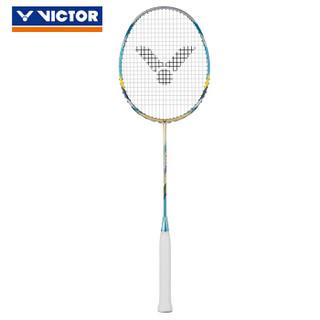 VICTOR 威克多 羽毛球拍训练级全面类碳纤维羽毛球拍 HX-7SP 纳米7升级版 HX-7SP V-4U(琥珀金)  537197103853