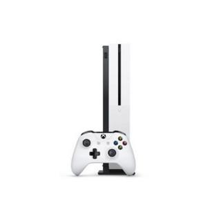 Microsoft 微软 Xbox One S 1TB天蝎座家用体感4K游戏机国行 单手柄套装 (白色、其他)