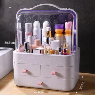 佳帮手 JBS-HZH-1702-Y 化妆品收纳盒  一个装 星系粉·加大号