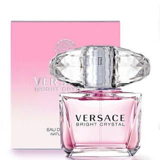 VERSACE 范思哲 FS-02A02 香水晶钻女士香水粉钻水晶淡香水礼物 粉钻水晶EDT 30ML