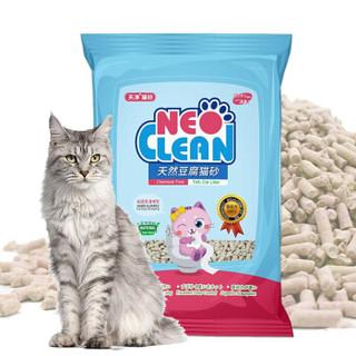 NEO CLEAN 天净 除臭原味豆腐猫砂6L 蓝色