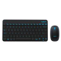 Logitech 罗技 MK245 无线键鼠套装 (黑色)