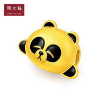 CHOW TAI FOOK 周大福 LINE FRIENDS系列 R22778 足金熊猫胖友转运珠