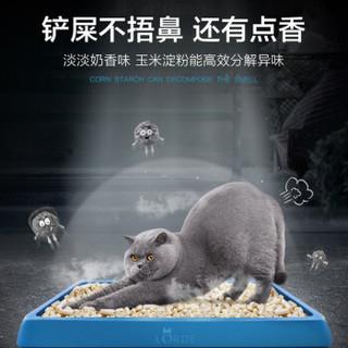 LORDE 里兜 LD20180827T 豆腐猫砂6L1包+猫砂伴侣2L1包 白色