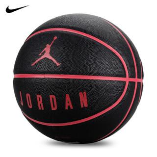 NIKE 耐克 室内外水泥地比赛篮球PU球  JKI1205307篮球7号球   BB0517 (黑红、7号)