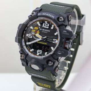 CASIO 卡西欧 手表G-SHOCK GWG-1000/GB-1A 太阳能电波登山男士腕表大泥王 GWG-1000-1A3 日本原装