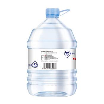 ALPS 阿尔卑斯饮用天然矿泉水5L*4桶 整箱 大桶家庭装 办公装  可配合饮水机使用