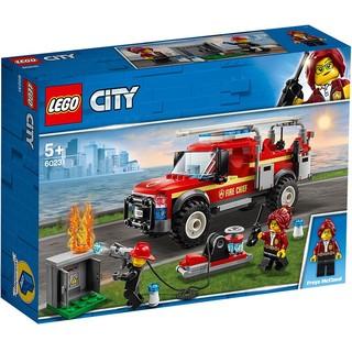 京东PLUS会员 : LEGO 乐高 City 城市系列 60231 消防队长应急卡车