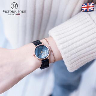 VICTORIA HYDE 女士手表 美人鱼系列时尚潮流款VH石英腕表气质 VH30075