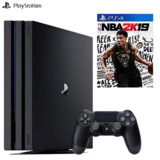 SONY 索尼 国行主机 PlayStation4p\/slim (黑色)