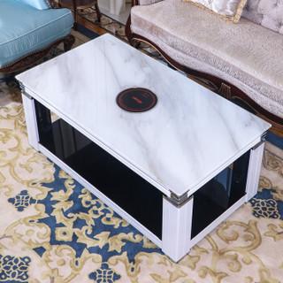 焱魔方 MF-SF-TR 电暖炉节能烤火炉 1.1米 白色