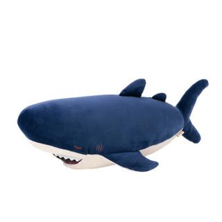 LIV HEART 抱枕毛绒玩具大号鲸鱼 73cm*宽35cm*高17cm 蓝色
