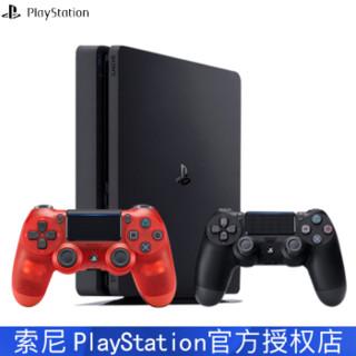 SONY 索尼 CUH-2209A B01 ps4proslim 娱乐游戏机 500g (黑色)