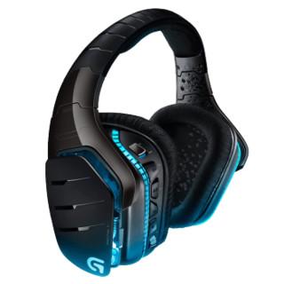 Logitech 罗技 游戏耳机  杜比7.1环绕声 (黑色、无线)