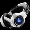 AULA 狼蛛 游戏耳机 (金属灰、有线、USB+3.5毫米音频接口)