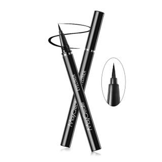 健美创研 眼线笔 不易脱色定妆持久防水不易晕染眼线液初学者学生 一支(硬头眼线液笔)